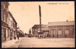 RUYSBROECK - RUISBROEK ( Sint Pieters Leeuw ) - PLACE DE LA GARE - STATION - PASSAGE A NIVEAU - Sint-Pieters-Leeuw
