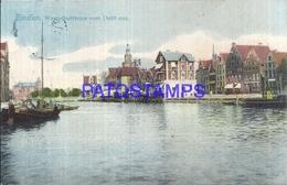 111265 GERMANY EMDEN WESTERBUTFEUNE FROM THE DELFT CIRCULATED TO HAMBURG POSTAL POSTCARD - Ohne Zuordnung