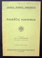 Lithuanian Book / Paukščių Auginimas 1933 - Bücher, Zeitschriften, Comics