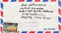 Postal History: Jamaica Cover Insufficiently For Transmission By Air Mail - Jamaica (1962-...)