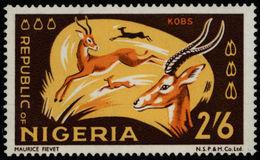 Nigeria 1972 **MNH Kob Cobe De Buffon - Wild