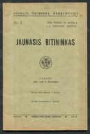 Lithuanian Book / Jaunasis Bitininkas 1935 - Livres, BD, Revues