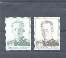 2738/39 Koning Leopold III En Boudewijn POSTFRIS** 1998 - Belgique