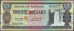 GUYANA - 20 Dollars Nd.(1989) UNC P.27 (1) - Guyana