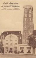 Zelzate, Selsaete, Café Gaumont, Overdekte Wip, Markt, Zetel Van Verscheidene Maatschappijen (pk60091) - Zelzate