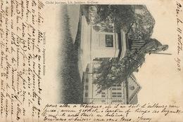 Grève Greviste Brigand Isbergues Mines  Envoi à Baronne  Alice De Benoist Lire Texte Carte St Omer Ecrite D' Aire 1902 - Grèves