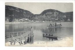 21816 - Vallée De Joux Le Pont Barque Et Bateau - VD Vaud