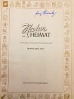 NATUR UND HEIMAT  JAHRGANG 1953 Gebunden Sachsenverlag Dresden DDR - Zeitungen & Zeitschriften