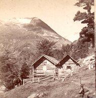 AK-1535/ An Der Elendhütte Berghütte Kärnten  Stereofoto V Alois Beer ~ 1900 - Stereo-Photographie