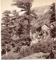 AK-1534/ An Der Elendhütte Berghütte Kärnten  Stereofoto V Alois Beer ~ 1900 - Stereoscopic