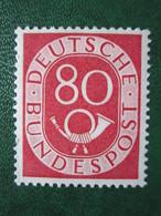 Bund Posthornmarke Mi 137 **   Postfrisch   , Prüfgarantie  ,  Einwandfrei - BRD