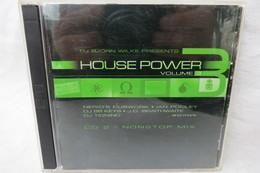 "2 CDs ""House Power Vol. 3"" DJ Björn Wilke Presents Nonstop Mix - Dance, Techno & House"