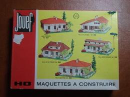 Décor Pour Train électrique - Maison Villa Ile De France - Jouef HO N°998 - Décors