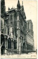 CPA 75 PARIS Cathédrale Notre Dame - Rue Du Cloitre 1917 - Notre Dame De Paris
