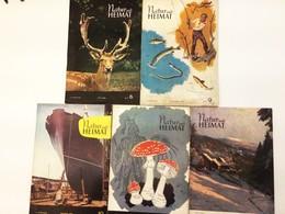 NATUR UND HEIMAT 9 Hefte 1959-1961 Urania-Verlag Leipzig DDR - Zeitungen & Zeitschriften