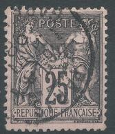 Lot N°48814  N°97, Oblit Cachet à Date De PARIS - 1876-1898 Sage (Type II)
