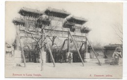 CARD CINA ENTRATA AL LAMA TEMPIO  S.YAMAMOTO PEKING  FP-N-2- 0882-28943 - Chine