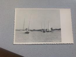 Photo Carte Nieuport Vue De Bateau - Photographie