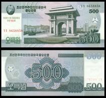 KOREA NORTH  500  2008г UNC - Korea, North
