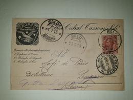 CP311-Cartolina Pubblicitaria Cedarl Simply - Acqua Cedro Tassoni - Salò - Storia Postale