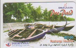 MALDIVES - PREPAID - BOAT - Maldive