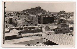 ADEN/YEMEN - THE CRATER AREA AND THE SIRA ISLAND FORT - 1953 - Yemen