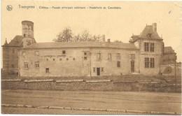 Trazegnies NA106: Château. Façade Principale Extérieure. Hostellerie Du Connétable 1932 - Courcelles