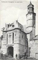 Trazegnies NA109: Château. Le Pont Levis 1911 - Courcelles