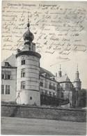 Trazegnies NA110: Château. La Grosse Tour 1910 - Courcelles