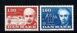 Danmark 1980 EUROPA  Yv. 700/701**,  Mi 699/700** Cat. Yv. € 2,25 - Danemark
