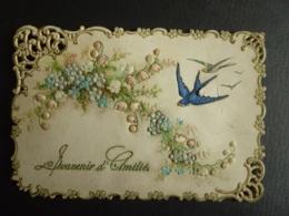 Type Canivet  Image Allégorie Florale   Souvenirs D'Amitiés  ( )   (Av_ Ma -2019 -cani) - Other