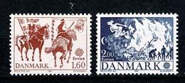 Danmark 1981 EUROPA  Yv. 733/734**,  Mi 730/731** Cat. Yv. € 3,00 - Danemark