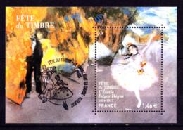 F 2017 Bloc N** Fête Du Timbre, Obl 1er Jour 11.03.17 L'Etoile, Edgar Degas, Peinture, Danse - Blocs & Feuillets