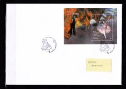 F 2017 Bloc Fête Du Timbre, Sur Lettre,  Obl 1er Jour 11.03.17 L'Etoile, Edgar Degas, Peinture, Danse - Blocs & Feuillets