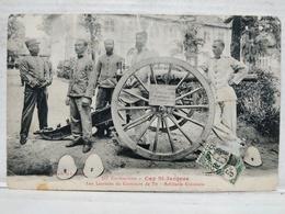 Cochinchine. Cap St-Jacques. Les Lauréats Du Concours De Tir. Artillerie Coloniale - Vietnam