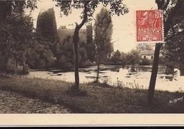 CRICQUEBEUF Eglise Recouverte De Lierre, étang (enceinte Du Vieux Manoir) 1931 éd. Le Goubey Cliché A Veyssière - France