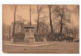 Mons - Socle De La Statue Roland De Lattre Ou De Lassus - Mons