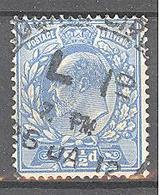 Grande Bretagne: Yvert N° 126°; Cote 12.50€ - 1902-1951 (Re)