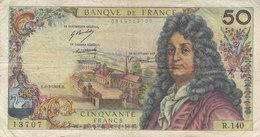 Billet 50 F Racine Du 6-3-1969 FAY 64.13 Alph. R.140 - 1962-1997 ''Francs''