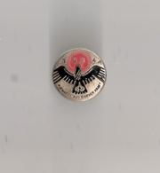 WHW Winterhilfswerk Blech Abzeichen 1934 Rund Durchmesser 2,5 Cm AUFWÄRTS AUS EIGENER KRAFT Seltener - Deutsches Reich
