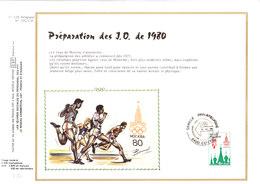 1913/4 Préparation Des Jeux Olympiques De Moscou 1980 Et De Lake Placid (2 Scans) - Zomer 1980: Moskou