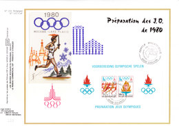 1915/6 Préparation Des Jeux Olympiques De Moscou 1980 Et De Lake Placid - Ete 1980: Moscou
