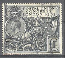 Grande Bretagne: Yvert N° 183°; Cote 700.00€; Petit Clair - Gebraucht