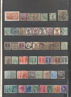 INDIA - Lotto - Accumulo - Vrac - 160 Francobolli - British India Service - Gandhi - Usati - Francobolli