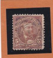 Etats-Unis  N° 101 + Fleurons  -  1894  -  U.  GRANT - Oblitérés - Usati