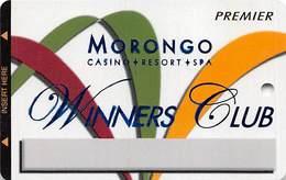Morongo Casino - Cabazon, CA USA - BLANK Premier Slot Card - Carte Di Casinò