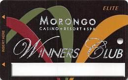 Morongo Casino - Cabazon, CA USA - BLANK Elite Slot Card - Casino Cards