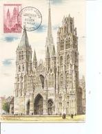 Cathédrales - Rouen ( CM De France De 1957 à Voir) - Churches & Cathedrals