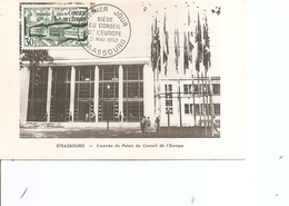Idées Européennes - Parlement De Strasbourg ( CM De France De 1952 à Voir) - European Ideas