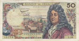 Billet 50 F Racine Du 2-5-1963 FAY 64.05 Alph. U.53 - 1962-1997 ''Francs''